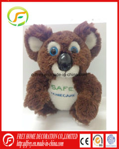 Lovely Squirrel Brown Color Soft Toy with Embroidery Logo pictures & photos