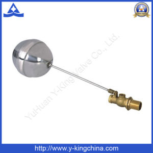 Brass Float Ball Valve with Stainless Ball (YD-3013) pictures & photos