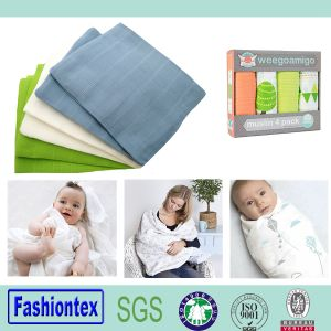Muslin Square Baby Blankets Wholesale Organic Muslin Fabric pictures & photos