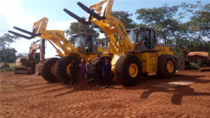 Heavy Mining Wheel Loader for Quarry Block