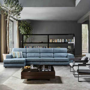 Adjustable Fabric Corner Sofa Set
