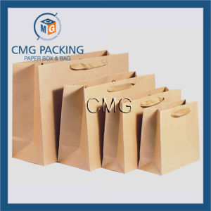 Brown Kraft Blank Packing Paper Bag (DM-GPBB-072) pictures & photos