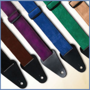2016 Leather Guitar Strap for Professional Acousic Guitar pictures & photos