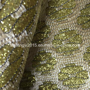 Fashion High Quality Glitter PU for Shoes pictures & photos