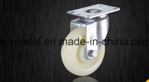 Medium Duty Caster Fixed / Rotating Caster. Mute Design Ppwheels Meduim Duty Caster pictures & photos