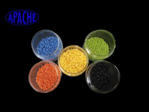 Color Customized Nylon PA66-Gf50-V0 Flame Retarded Pellets for Engineering Plastics pictures & photos