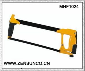 High Quality Square Tubular Frame with Aluminium Handle Double Soft Grip Hacksaw pictures & photos