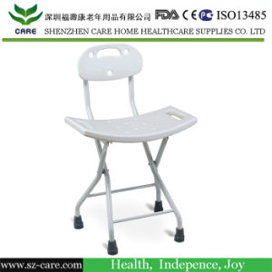 Rehabilitation Therapy Aluminum Height Adjustable Bath Chair for Disabled