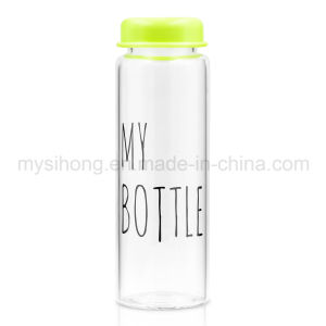 7d5961c3d9 China Borosilicate Glass Water Bottle with Printed&Ldquo