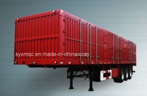 Van Body Truck Cargo Box Semi Trailer
