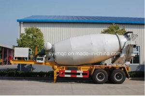 Construction Machinery Concrete Mixer 2 Axle Semi Trailer 08-4