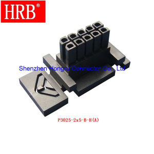 Receptacle Housing Wire to Wire Connector with Panel Mount pictures & photos