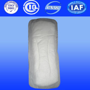 180mm Super Soft Cotton Anion Sanitary Napkin Panty Liner with Wood Pulp for America Market pictures & photos