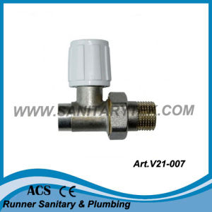 Straight Radiator Valve for Soldering to Copper Pipes (V21-007) pictures & photos