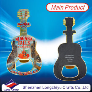 Fashion Style Guitar Bottle Opener Metal Bottle Opener pictures & photos