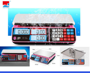 Electronic Market Price Computing Weighing Scale (DH~586) pictures & photos