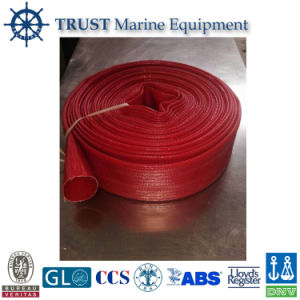 Natural Rubber 65mm Rubber Lined Fire Hose Manufacturer pictures & photos