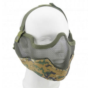 Tactical V2 Strike Mesh Half Face Softair Airsoft Mask pictures & photos
