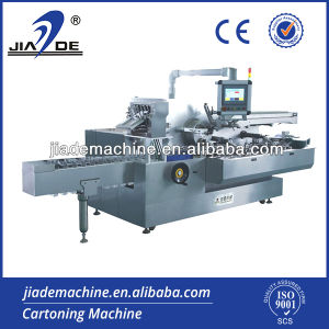 Automatic High Speed Cartoning Machine for Food (JDZ-260)