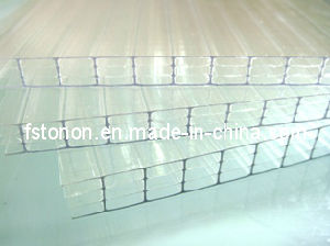 Fourfold-Wall Polycarbonate Sheet