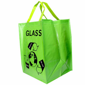 Eco Friendly Shopping Bag Made Of PP Woven Fabric With Lamination 14032802
