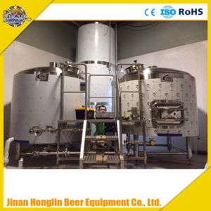 200 Liter Hotel Brewery Equipment2bbl Craft Beer Fermenting Tanks