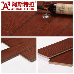 Easy Installation Arc Click Wood Grain Laminate Flooring pictures & photos