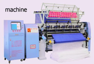 Computerized Shuttle (Lock Stitch) Multi-Needle Quilting Machine (YXS-64-3B/2B) pictures & photos