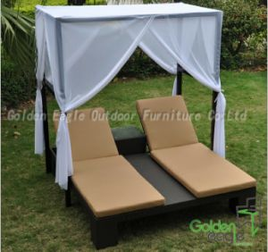Outdoor Hot Sale Double Sun Lounger