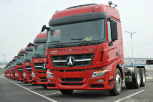420HP Beiben Truck V3 6X4 Tractor Truck with Mercedes Technology pictures & photos