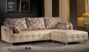 Fabric Home Sofa (0901#) pictures & photos