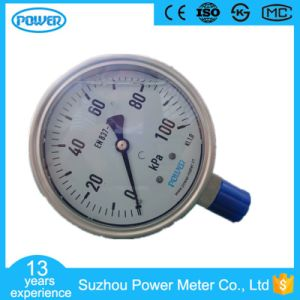 100mm All Stainless Steel 100kpa Low Pressure Manometer pictures & photos