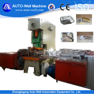 Disposable Aluminum Foil Food Container Making Machine pictures & photos
