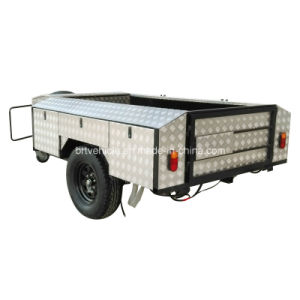 Soft Floor off Road Camper Trailer with Aluminium Plate (BRT-S01)