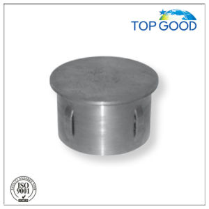 Steel Flat End Cap with Raw Finish