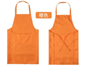 Promotional Kitchen Cooking Apron (hbap-19) pictures & photos