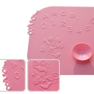 Silicone Power Chuck Meal Pad-Children Meal Pad pictures & photos