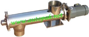 Cross Screw Feeder/ Horizontal Screw Conveyor for Powder