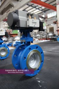 Triple Offset, Three Eccentric, Metal Seat Butterfly Valves Class150&Pn16 pictures & photos