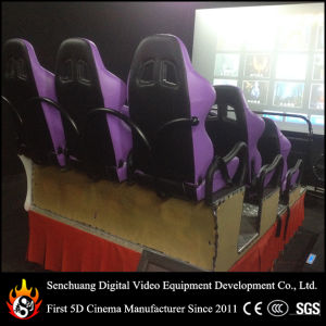 Popular 5D Film Cinema with Electric Motion Cinema Seat
