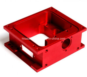 Precision Red Anodized Aluminum Electrical Enclosure Case pictures & photos