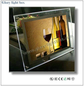 SMD3528 LED Crystal Light Box/ Ultra Thin Light Box pictures & photos