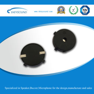 Round Piezo Buzzer with SMT Type