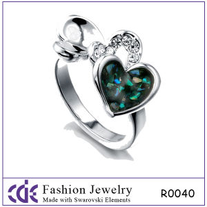 2012 Fashion Rings with Love Shape-R0040