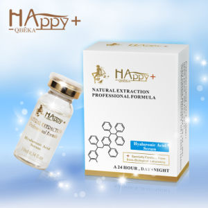 Natural Happy+ Qbeka Hyaluronic Acid Serum Pure Hyaluronic Acid Serum pictures & photos