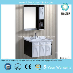 Lacquer Finish The Middle East Bathroom Furniture Vanity (BLS-16005) pictures & photos