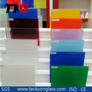 3-12mm Geen /Blue /Yellow/White / Super White Lacquered Glass pictures & photos
