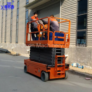 8m Battery Self-Propelled Scissor Aerial Work Platform pictures & photos