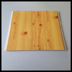 Wooden Color PVC Panel for Wall and Ceiling Use Hot-Stamping (HN-2506) pictures & photos