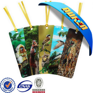 Customized Lenticular Flip Bookmark for Book
